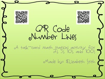 QR Code Number Lines
