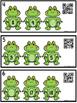 QR Code (Optional) Missing Number Task Cards 0-20 Frogs