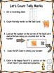 QR Code (Optional)  Tally Mark Task Cards 1-20 Carrots