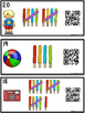 QR Code (Optional) Tally Mark Task Cards 1-20 Popsicles