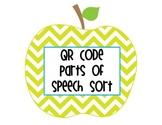 QR Code Parts of Speech Sort