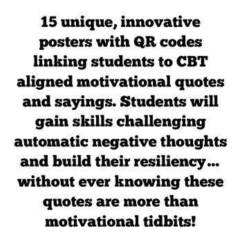 QR Code Pep-Talks...CBT Inspired!
