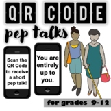 QR Code Pep-Talks...CBT Inspired!