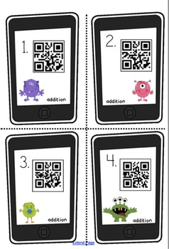 QR Code Place Value