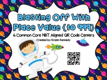 QR Code Place Value Centers