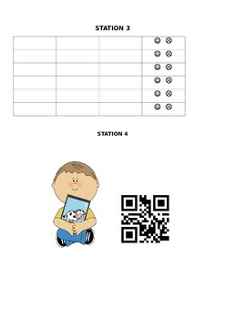QR Code Present Perfect and Past Simple