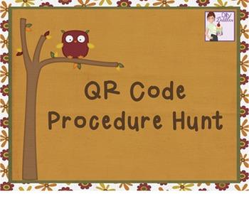 QR Code Procedure Hunt