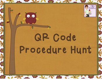 QR Code Procedure Hunt
