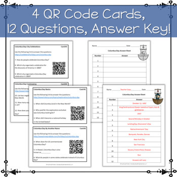 QR Code Quest: Columbus Day