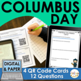 Columbus Day QR Code Activity