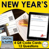 New Year's QR Code Activity