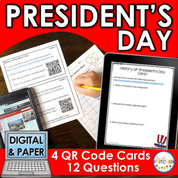 QR Code Quest: President's Day
