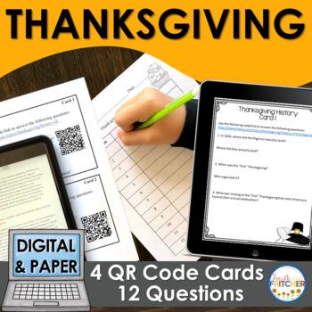 QR Code Quest: Thanksgiving