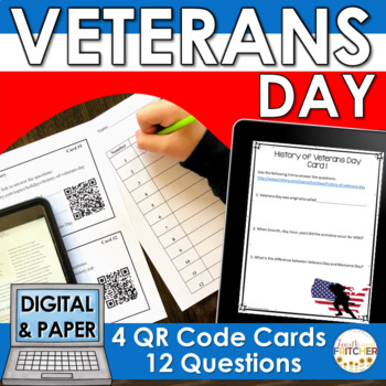 QR Code Quest: Veterans Day