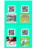 QR Code Read Aloud Listening Center Stories- 40 Popular Books