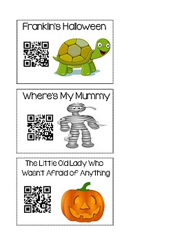 QR Code Read Alouds - Fall