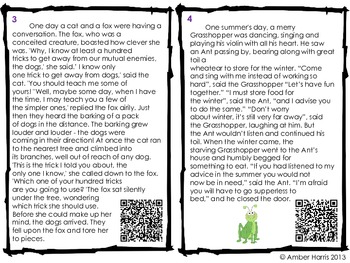 QR Code Reading Fables, Folktales, and Myths
