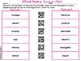 QR Code Reading Synonyms