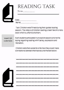 QR Code Reading Task