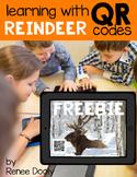 QR Code - Reindeer Freebie