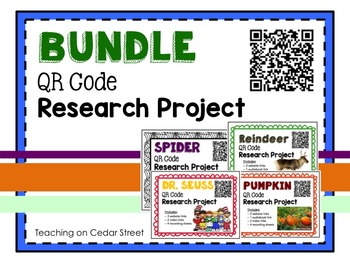 QR Code Research Bundle