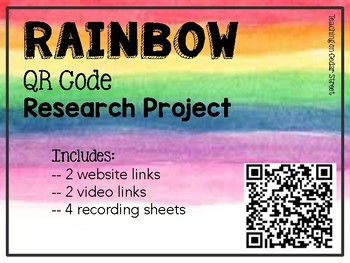 QR Code Research: Rainbows