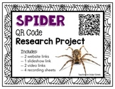 QR Code Research: Spiders