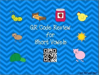 QR Code Review for Short Vowels