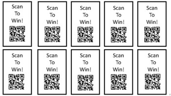 QR Code Reward Tickets