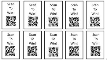 QR Code Reward Tickets