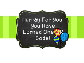 QR Code Rewards