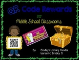 QR Code Rewards for Middle School