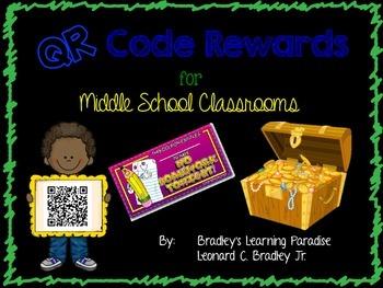 QR Code Rewards for Middle School