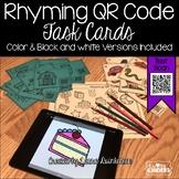 QR Code Rhyming Words Activity