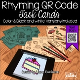 QR Code Rhyming Words Activity
