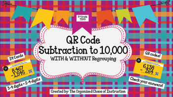 UPDATED! QR Code SUBTRACTION to 10,000