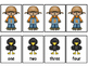 QR Code Scarecrow Subtract The Room Minuends To 8 & Matching Cards