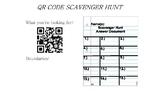 QR Code Scavenger Hunt (#1-15)