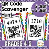 QR Code Scavenger Hunt: Multiplication (2 digit x 2 digit)