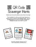 QR Code Scavenger Hunt Adventure - Computer Tech Activity