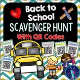 QR Code Scavenger Hunt {Back to School}
