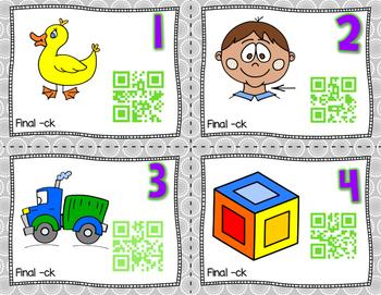 QR Code Task Cards: Final -ck