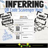 Inferring - QR Code Scavenger Hunt