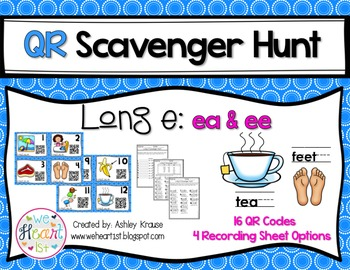 QR Code Scavenger Hunt: Long E