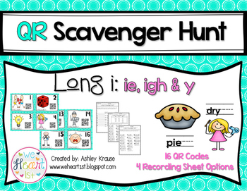 QR Code Scavenger Hunt: Long I