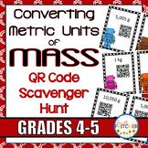QR Code Scavenger Hunt: Converting Metric Units of Mass