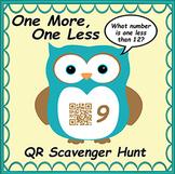 QR Code Scavenger Hunt- One More, One Less Owl Themed