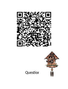 One is a Feast for Mouse - QR Code Scavenger Hunt - Thanksgiving