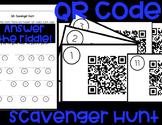 QR Code Scavenger Hunt Activity *iPad Technology*