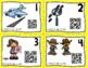 QR Code Task Cards: Vowel Teams & Diphthongs BUNDLE
